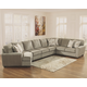 Patola Park 5-Piece Sectional with Cuddler