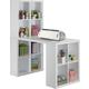 Storage Desk with Cubbies