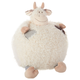 Kids Plush Cow Pouf Round Animal Pillow