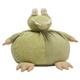 Kids Plush Crocodile Pouf Round Animal Pillow