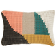 Modern Woven Geometric Life Styles Multicolor Pillow