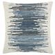 Modern Woven Denim Ombre Life Styles Denim Pillow