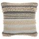 Modern Texture Stripes Life Styles Ocean Pillow