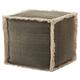Modern Stonewash Life Styles Charcoal Cube
