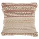 Modern Texture Stripes Life Styles Blush Pillow