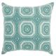 Modern Crochet Tiles Life Styles Celadon Pillow