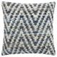 Modern Woven Denim Chevron Life Styles Denim Pillow