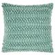 Modern Woven Stripes Life Styles Celadon Pillow