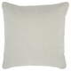 Modern Stonewash Solid Life Styles Gray Pillow