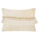 Modern Velvet Tassels Life Styles Ivory Pillow