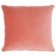 Modern Solid Velvet Life Styles Blush Pillow
