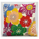 Modern Wild Flowers Life Styles Multicolor Pillow