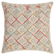 Modern Tile Stonewash Life Styles Multicolor Pillow