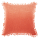 Modern Woven Ombre Life Styles Coral Throw