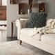 Modern Velvet Sponge Finger Life Styles Dark Gray Pillow