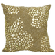 Modern Fully Beaded Luminescence Light Gold Pillow