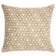Modern Small Silver Stars Luminescence Silver Gold Pillow