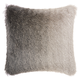 Modern Illusion Shag Charcoal Pillow