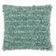 Modern Paper Loop Shag Celadon Pillow