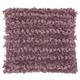 Modern Paper Loop Shag Lavender Pillow