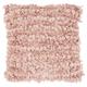 Modern Loop Shag Blush Pillow