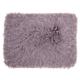 Modern Yarn Shimmer Shag Lavender Pillow