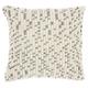 Modern Loop Dots Outdoor Pillows Grey Pillow