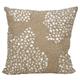 Modern Fully Beaded Luminescence Beige Pillow