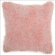 Modern Candy Lurex Shag Rose Pillow