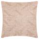 Modern Beaded Basket Weave Luminescence Blush Pillow