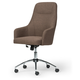 Upholstered Swivel Home Office Chair