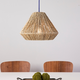 Natural Holly & Martin Lamont Seagrass Pendant Shade