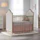 Little Seeds Piper Upholstered Metal Crib