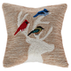 Decorative Liora Manne Whimsy Holiday Friends Indoor/Outdoor Pillow 18