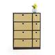 Storage Cabinet with Bin Drawers