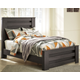Brinxton Full Panel Bed with Nightstand