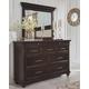 Brynhurst Dresser and Mirror