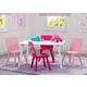 Delta Children Kids Table and 4 Chair Bundle