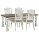 Havalance Dining Table and 4 Chairs