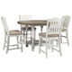 Havalance Counter Height Dining Table and 4 Barstools