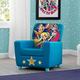 Delta Children DC Super Hero Girl High Back Upholstered Chair
