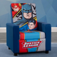 Delta Children DC Comics Justice League High Back Upholstered Chair