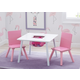 Delta Children Kids Table And Chair Bundle With Storage