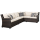 Easy Isle 3-Piece Sofa Sectional/Chair with Cushion