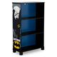 Delta Children DC Comics Batman Deluxe 3 Shelf Bookcase