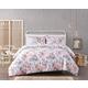 Floral 3-Piece Full/Queen Comforter Set