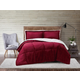 Velvet 3-Piece Full/Queen Comforter Set