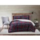 Plaid 3-Piece Full/Queen Comforter Set