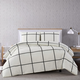 Geometric 3-Piece Full/Queen Duvet Set