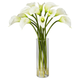 Home Accent Mini Calla Lily Silk Flower Arrangement